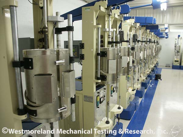 Stress Rupture and Creep Testing machines